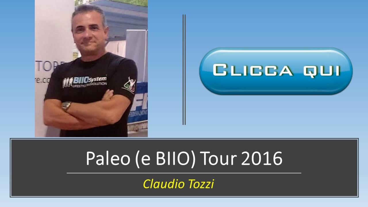 Paleo (e BIIO) Tour 2016